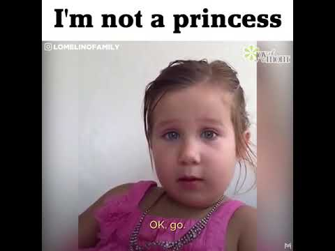 No,I Am Not Your Princess Dad