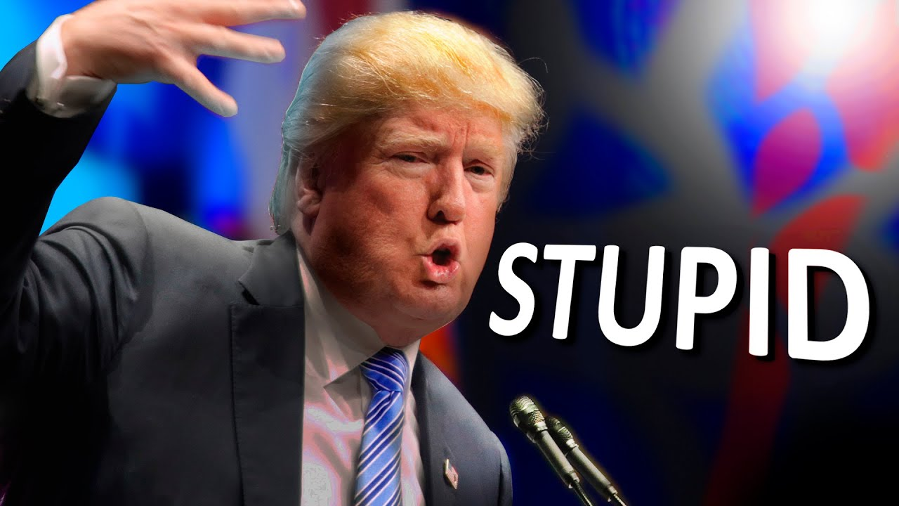 Image result for donald trump dumb