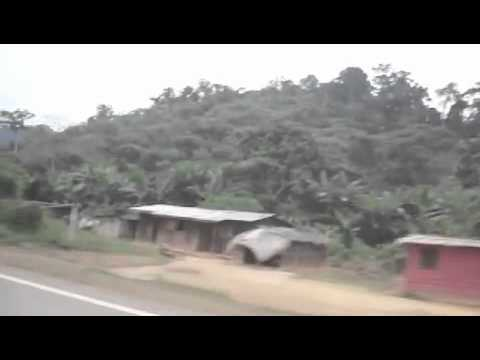 Driving in Gabon