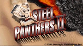 Steel Panthers 2: Modern Battles gameplay (PC Game, 1996)