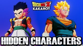 Dragon Ball Z Kakarot - ALL Hidden Characters Free Roam & Attacks Gameplay (Vegito, Gotenks, & MORE)