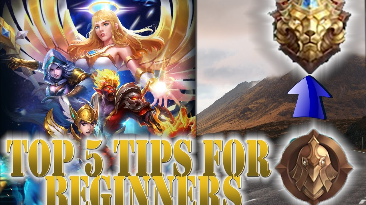top 5 tips for beginners - mobile legends