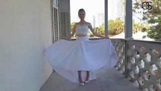 הדרך לשמלת הכלה המושלמת מתחילה כאן The process of making a wedding dress