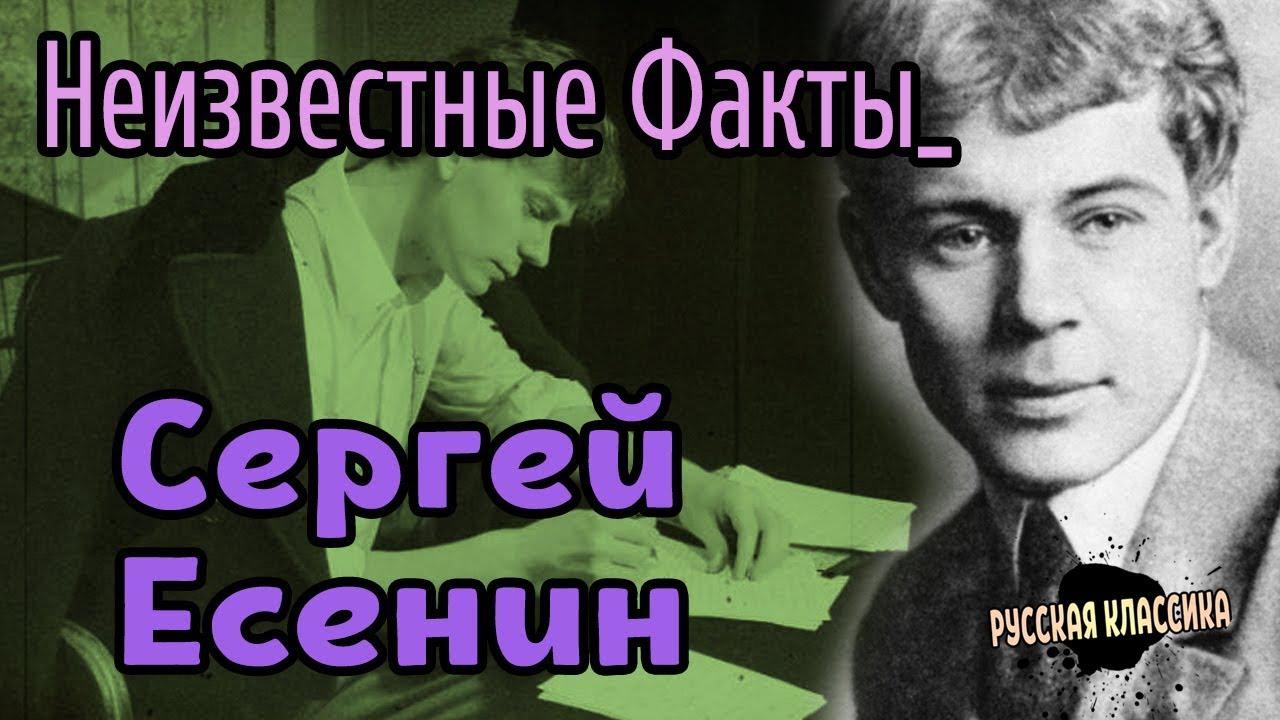 Сергей Есенин: факты из жизни поэта