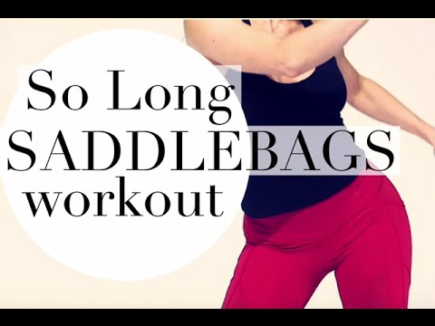 SO LONG SADDLEBAGS, best outer thigh and hip workout - YouTube