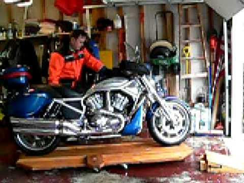 Vrod Motorcycle Turntable Demo Youtube