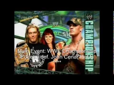 WWE Summerslam 2006 Review