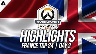 Netherlands vs United Kingdom | Overwatch World Cup 2018 Paris Qualifier Day 2