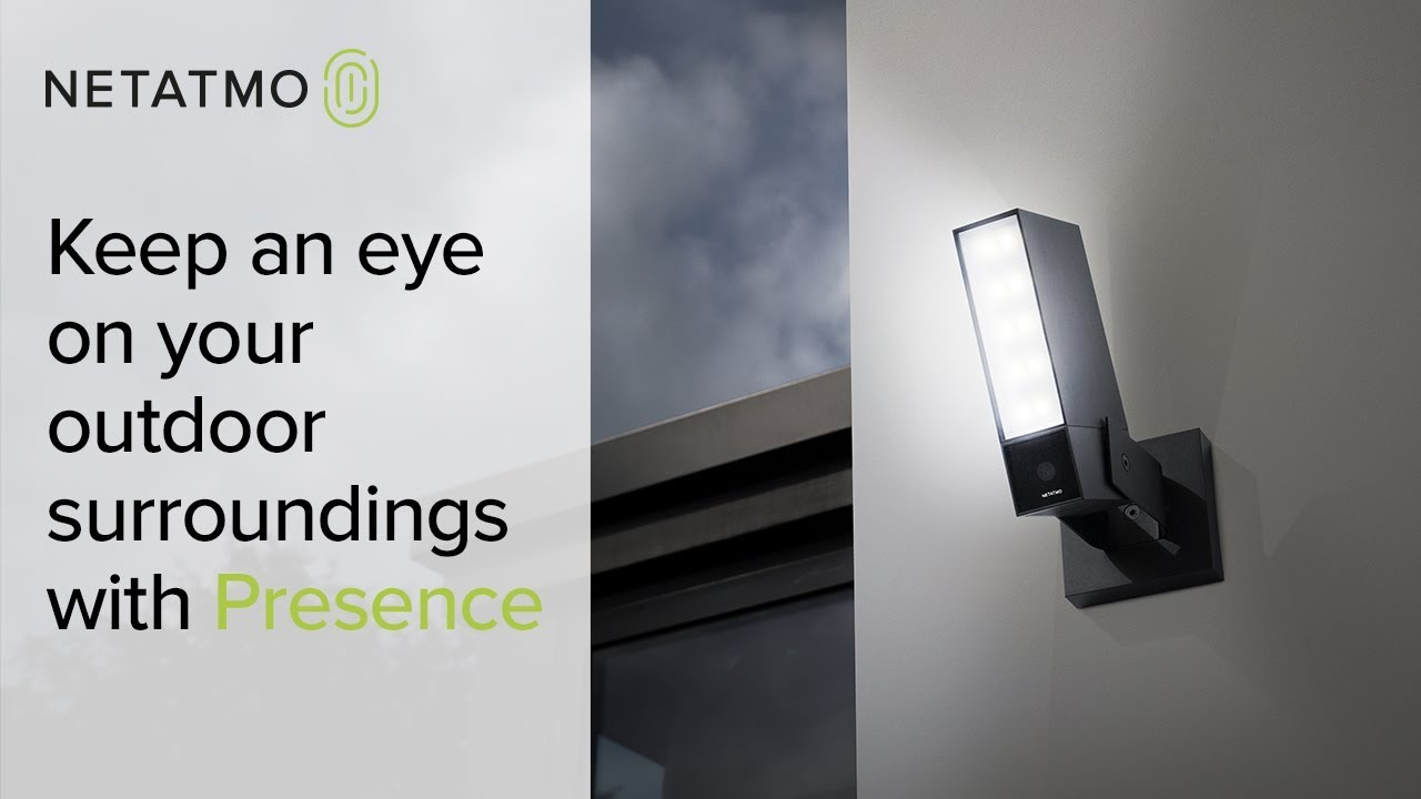Always keep an eye on your outdoor surroundings netatmo presence always keep an eye on your outdoor surroundings netatmo presence the smart security camera arubaitofo Images