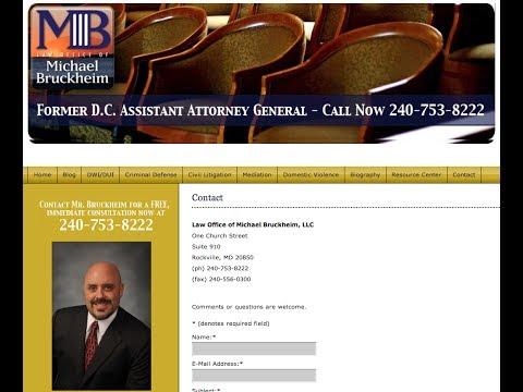 Personal Injury Attorney Washington DC - Settlement Lawyer - Michael Bruckheim