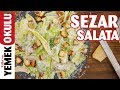 Sezar Salata Tarifi | Sezarın Hakkını Sezara Vermeye Geldik 😜 🥗
