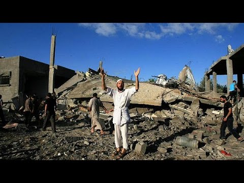 Israel pursues Gaza air strikes as Palestinians say death toll tops 200