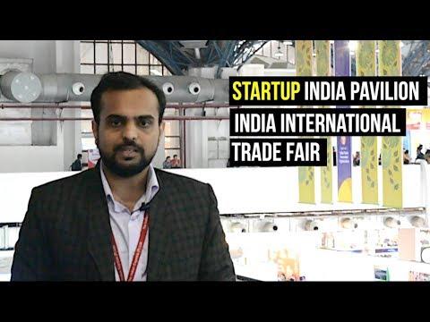 Start Up India Pavilion, India International Trade Fair 2017