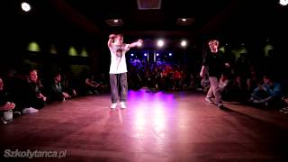 Półfinał Hip-Hop 1vs1 - Zawierucha vs Krzystof Kulling | Free Mind Festival 2013|WWW.SZKOLYTANCA.PL