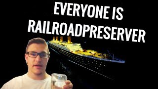 Roblox Titanic: Adventure Out Of Time But Everyone Is Railroadpreserver