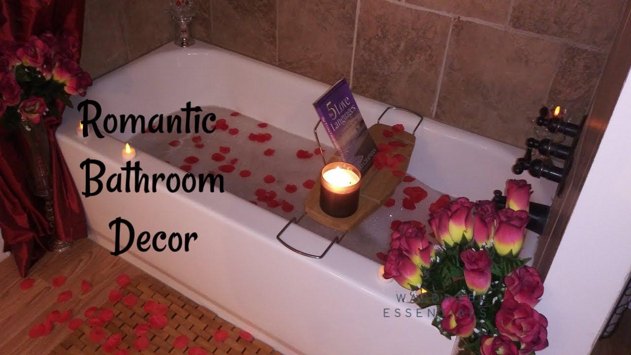 Romantic bathroom decor #valentine bathroom decor Idea