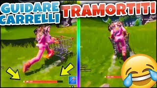 DRIVE A CART FROM STUNNED! 😆😆 FORTNITE ITA REAL VITTORY