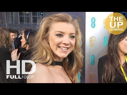 Natalie Dormer interview at BAFTAs on Time's Up and favourite films