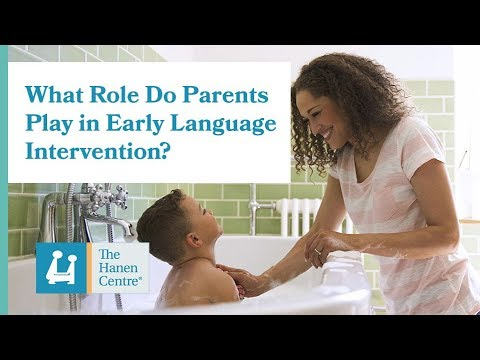 What Role Do Parents Play in Early Language Intervention?