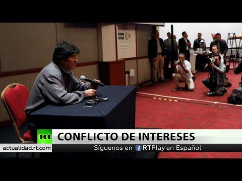 Evo Morales habla sobre violencia y elecciones generales en Bolivia
