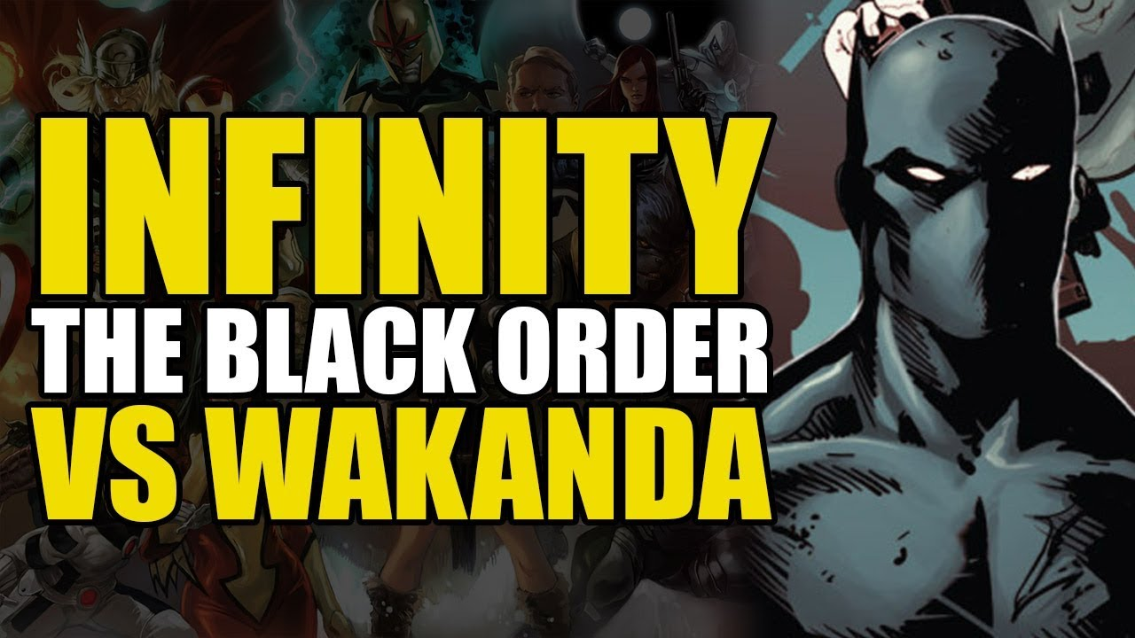 Download Thanos' Black Order Invades Wakanda: Infinity The New Avengers | Comics Explained