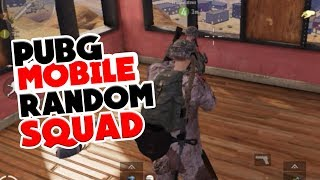 RANDOM SQUAD - PUBG MOBILE INDONESIA