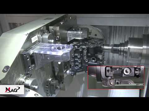 MAG SPECHT 600: Machining Of Engine Block With Controllable Tools