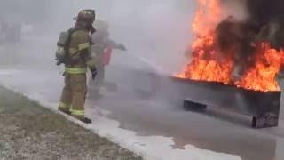 USA КИНО 945. ENGLISH. Тренировки американских пожарных. Часть 2.