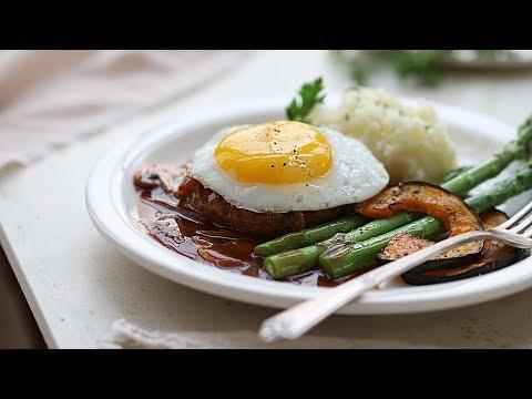 [ENG CC] 함박 웃음 가득한 맛!😆함박스테이크 : Hamburg Steak Recipe l 어린이날, 어버이날 [아내의 식탁]