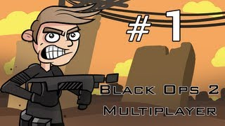 The Future is Black - Call of Duty Black Ops 2 PC Multiplayer Gameplay Part 1 - Just Like Old Times on Raid