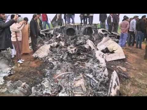 US warplane crashes in Tripoli in Libya