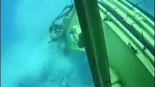 Underwater CAT excavator