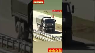 indian army truck power #short indian army truck testing video desi jamidar status video
