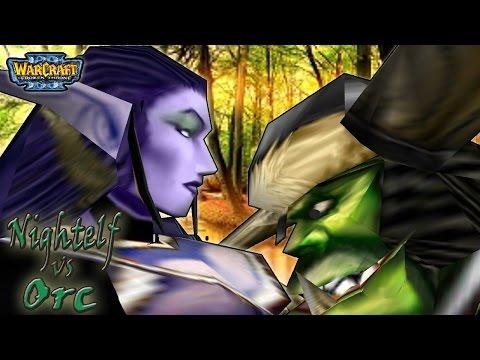 Warcraft 3 - Night Elf vs Orc