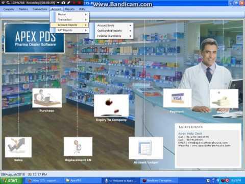Apex Pharma Retail Software - www.apexsoftwarehouse.com