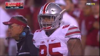Ohio State Buckeyes vs Oklahoma Sooners - First half play by play - 9/17/16