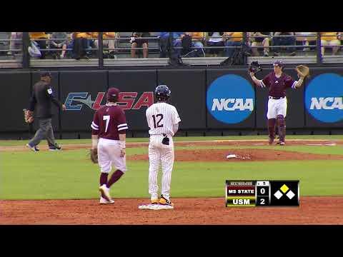 Southern Miss Baseball vs Mississippi State Game 1 - 02.16.18
