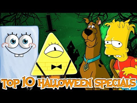 Top 10 GREATEST Animated Halloween Specials