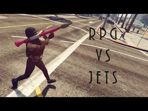 GTA 5 Online | RPG Vs. Jets | No Deaths | 1k Subs!
