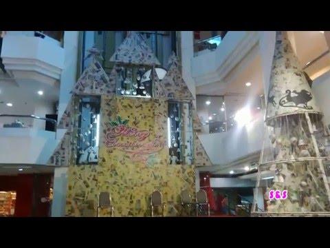 pohon natal unik&dekorasi dari kertas koran - youtube