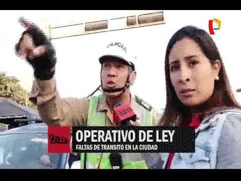Operativo de ley: faltas de tránsito en la ciudad