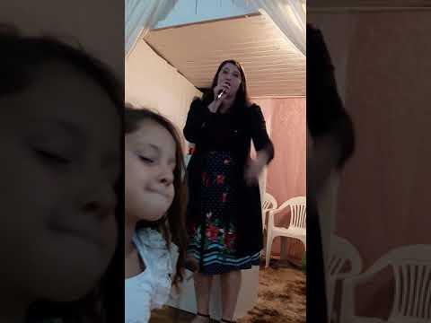 Cassiane pregando na Assembleia de Deus Cristã!!!  13/02/2019