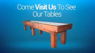 Shuffleboard Table For Sale | Austin Billiards Sells Shuffleboard Tables