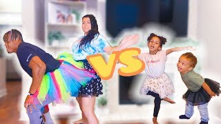 THE J FAMILY - ULTIMATE FAMILY DANCE BATTLE!!