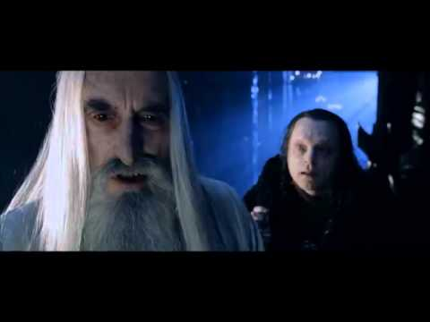 The Lord of the Rings: The Two Towers-Saruman and Grima discuss Isildurs heir