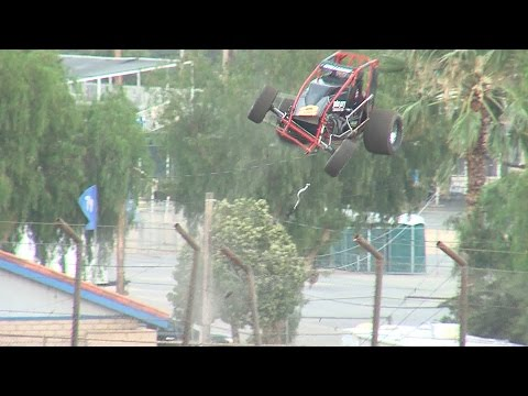 Austin Williams Flips Out of the Racetrack - June 11, 2016