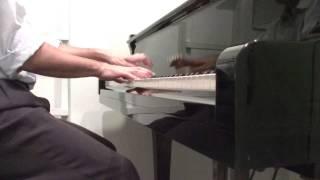 いつもは夜中にアップライトピアノのサイレントなので、グランドピアノ...