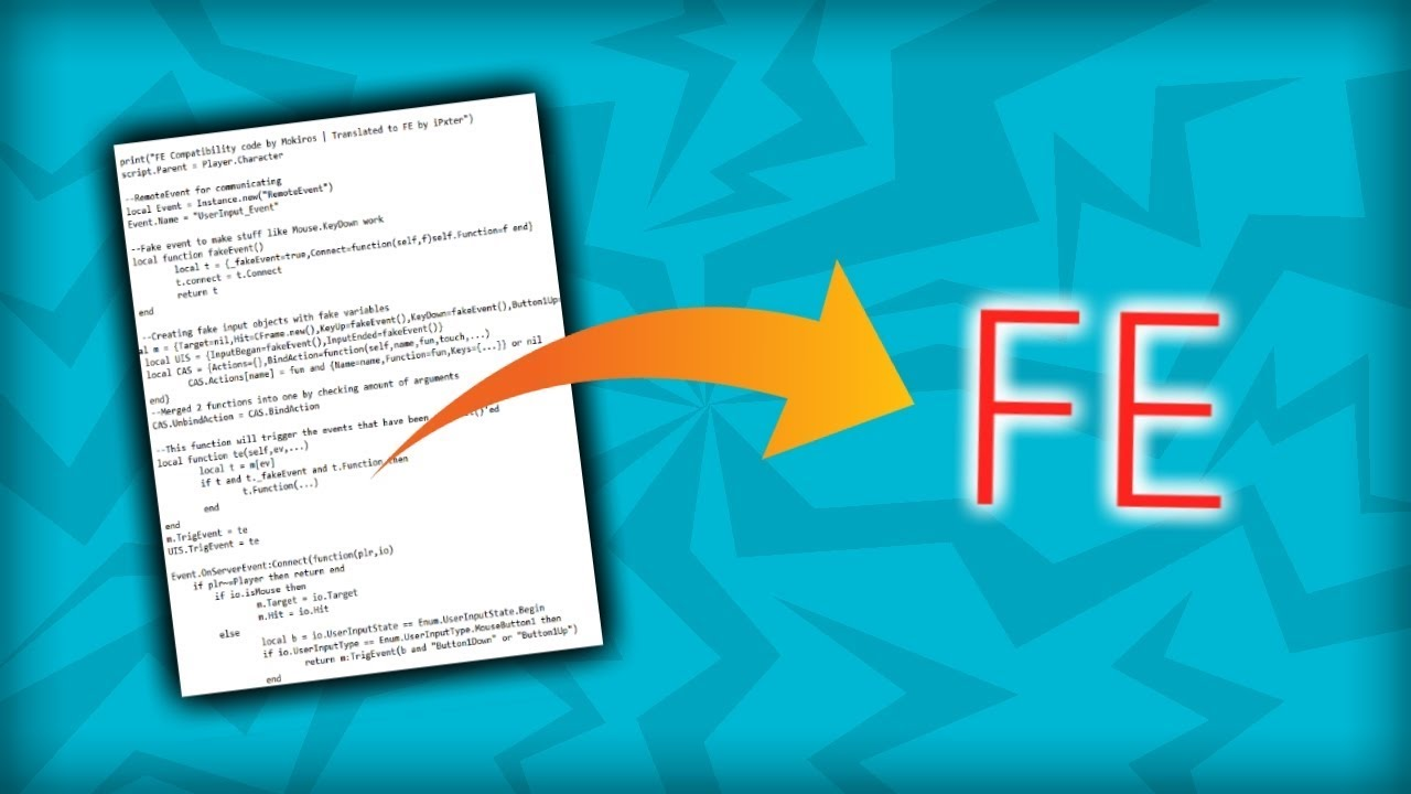 How to make scripts FE for Void Script Builder | Tutorial
