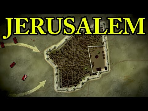 First Crusade: Siege of Jerusalem 1099 AD