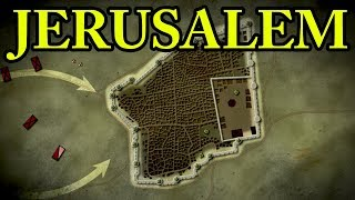 First Crusade: Siege of Jerusalem 1099 AD